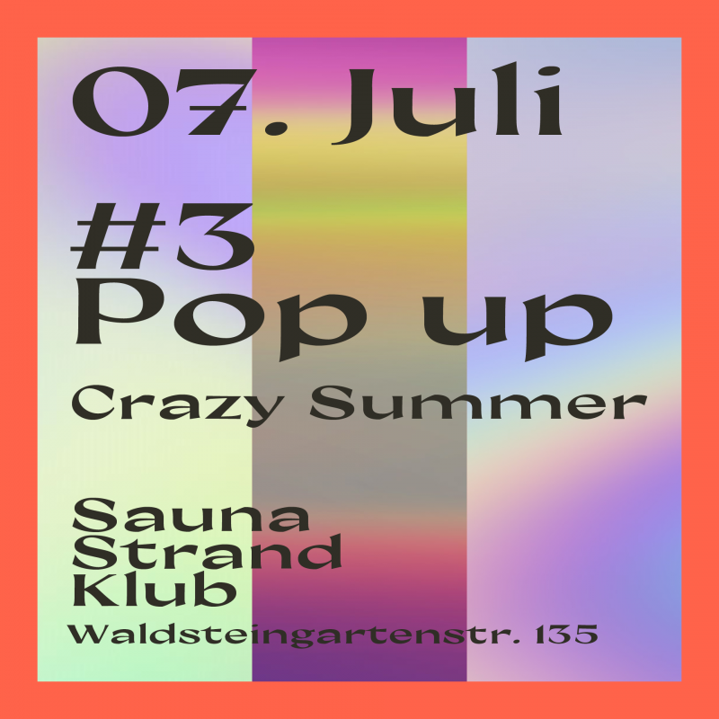 dtc Crazy Summer Pop-up PArty